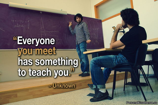 Everyone teaches