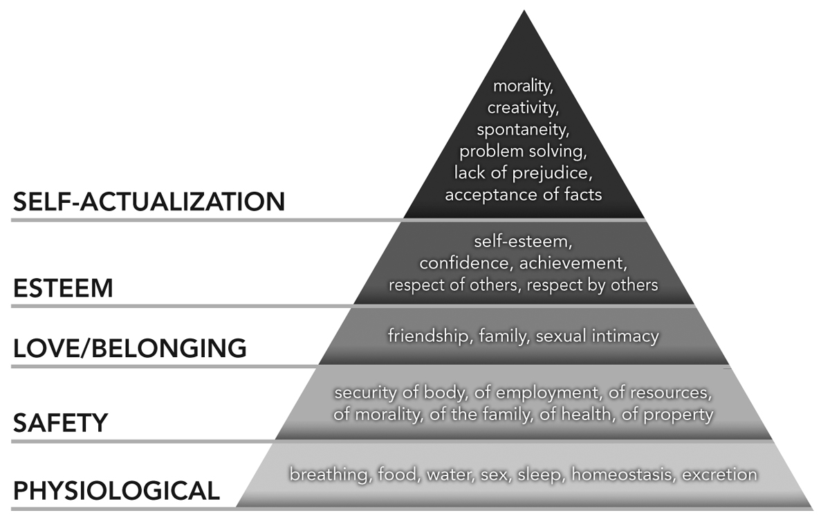 Innovative Leadership Hierarchy of Needs