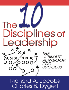 The 10 disciplines of Leadership