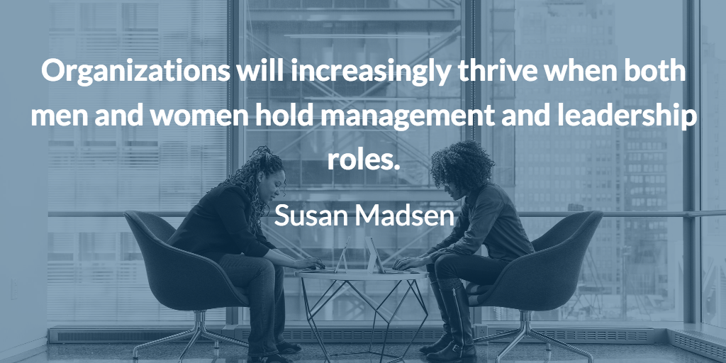 Susan Madsen Women in Leadership Positions