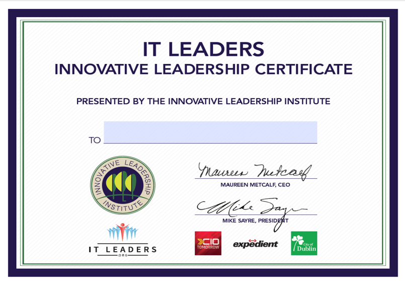 Innovation Leaders Certification